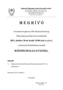 közmeghallgatás 2015.10.20