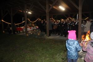 Adventi közös éneklés Feketeerdőn (3)