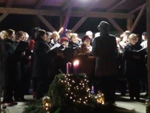 Adventi közös éneklés Feketeerdőn (5)