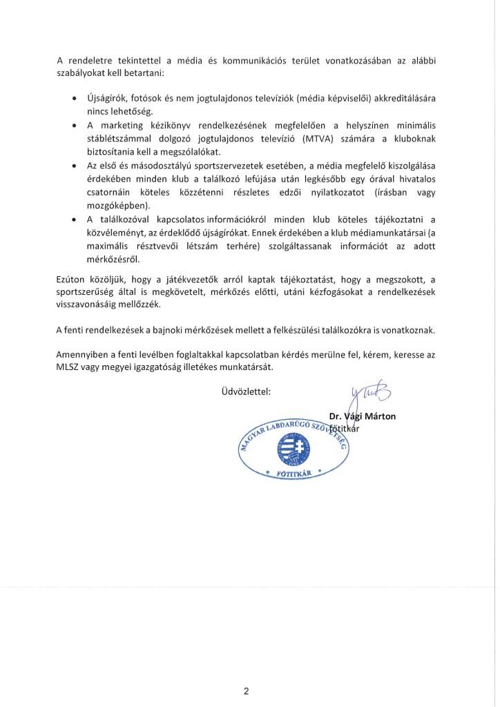 Főtitkári tájékoztató levél2